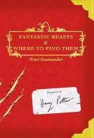 Cover art for Fantastic Beasts and Where to Find Them
