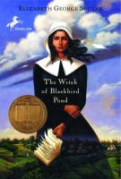 Cover art for The Witch of Blackbird Pond