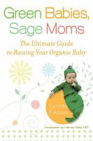 cover of Green Babies, Sage Moms by Lynda Fassa