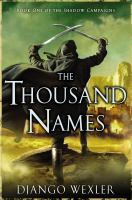 Cover art for The Thousand Names