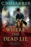 Cover art for Where the Dead Lie