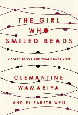 Book cover for The girl who smiled beads.