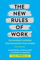 Cover art for The New Rules of Work