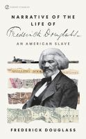 Cover art for The Narrative of the Life of Frederick Douglass