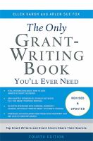 The Only Grant-writing Book You'll Ever Need by Karsh, Ellen © 2014 (Added: 6/28/16)