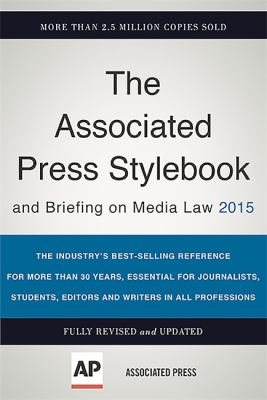 AP Stylebook and Briefing in Media Law cover