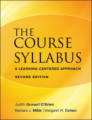 Cover Image: The Course Syllabus