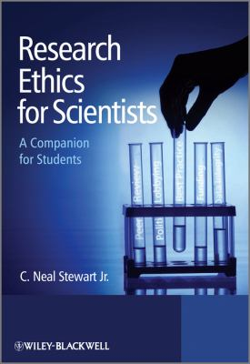Book jacket for Research Ethics for Scientists