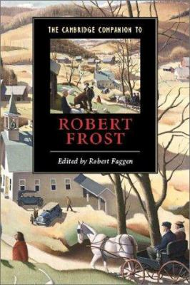 Cover for The Cambridge Companion to Robert Frost