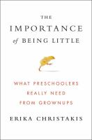 Cover art for The Importance of Being Little