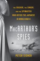 Cover art for MacArthur's Spies