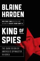 Cover art for King of Spies