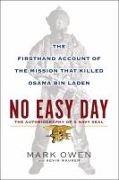 Cover art for No Easy Day