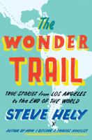 Cover art for  The Wonder Trail