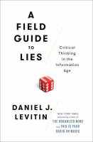 Cover art for A Field Guide to Lies