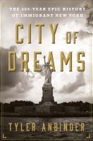 Cover art for City of Dreams
