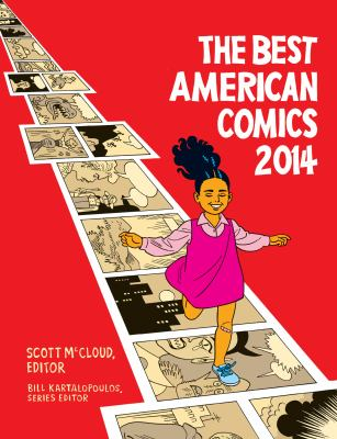 cover of The Best American Comics 2014
