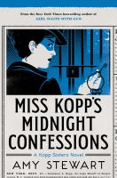 Cover art for Miss Kopp's Midnight Confession