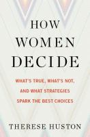 Cover art for How Women Decide
