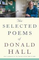 Cover art for The Selected Poems of Donald Hall