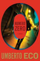 Cover art for Numero Zero