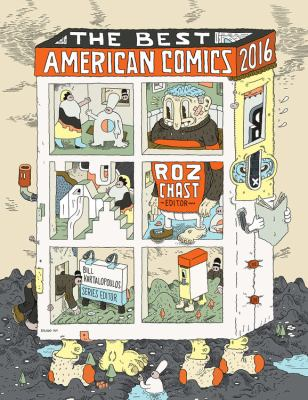 cover of The Best American Comics 2016