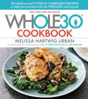 Cover art for The Whole 30 Cookbook