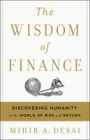Cover art for The Wisdom of Finance
