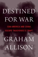 Cover art for Destined for War