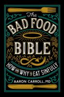 Cover art for The Bad Food Bible