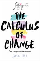 Cover Art for The Calculus of Change
