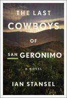 Cover art for The Last Cowboy of San Geronimo
