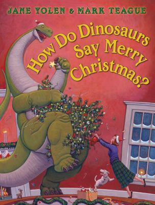 Details about How Do Dinosaurs Say Merry Christmas?