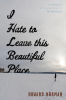 I Hate to Leave this Beautiful Place cover art