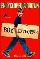 Cover art for Boy Detective