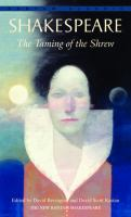 The Taming of the Shrew (book cover)