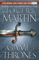 Cover art for A Game of Thrones