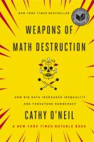 Cover art for Weapons of Math Destruction
