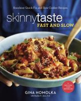 Cover art for Skinnytaste Fast and Slow