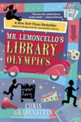 cover of Mr. Lemoncello's Library Olympics