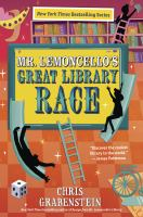 Cover art for Mr. Lemoncello's Great Library Race