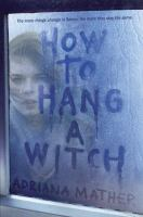 Cover art for How to Hang a Witch