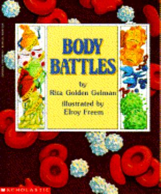 book cover for children's book called body battles
