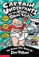 Cover art for Captain Underpants and the Attack of the Talking Toilets