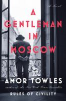 Cover Art for A Gentleman in Moscow