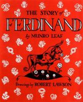 Cover art for The Story of Ferdinand