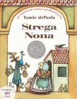 Cover art for Strega Nona