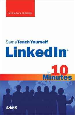 Details about Sams teach yourself LinkedIn in 10 minutes