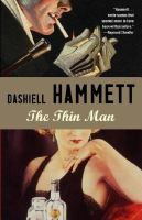 Cover art for The Thin Man