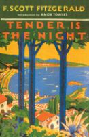 Cover art for Tender is the Night